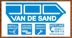 Rohstoff- und Metallhandel van de Sand